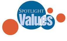 Spotlight Values hardwood